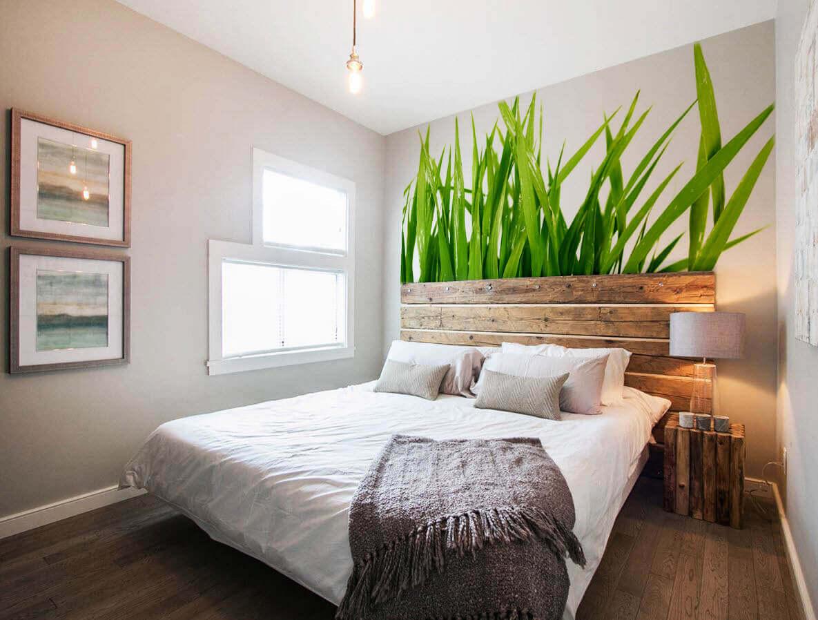 фотообои для небольшой спальни красивые