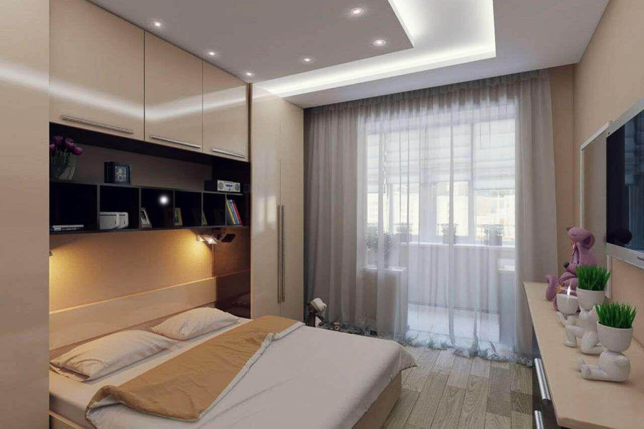 дизайн маленькой спальни как оформить маленькое помещение