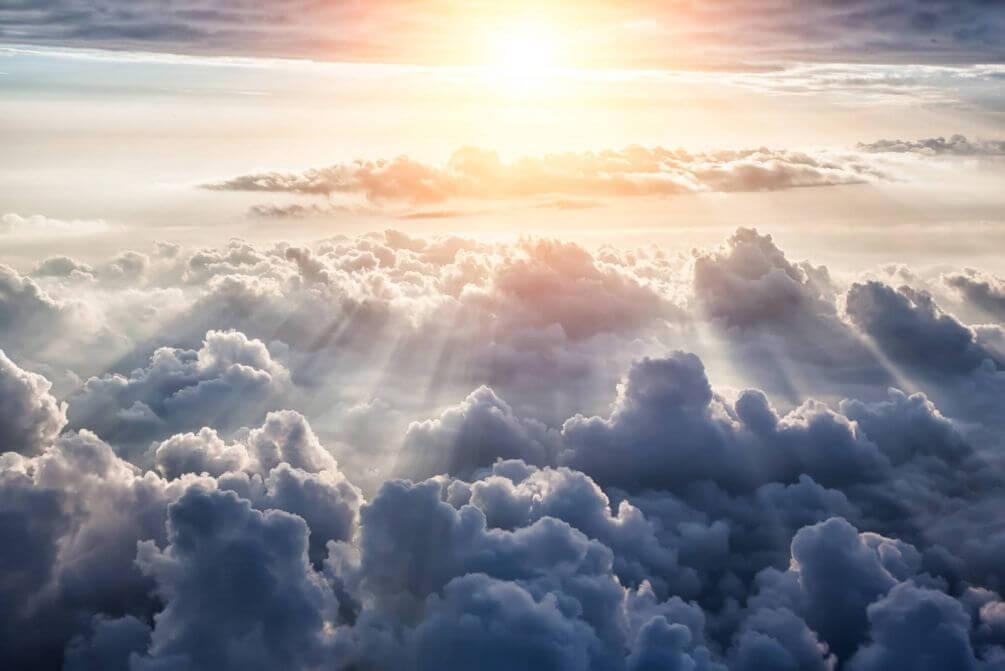 фото рая на небесах характерным немецким
