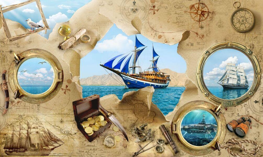 Картинки открытки с морской тематикой