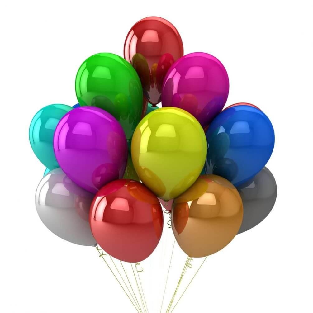 Воздушные разноцветные шары картинки
